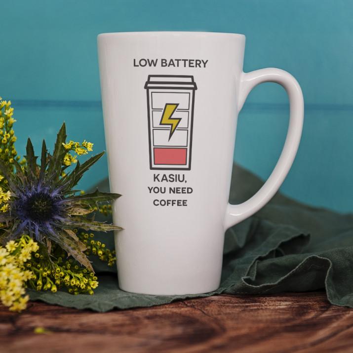 Low Battery - kubek personalizowany