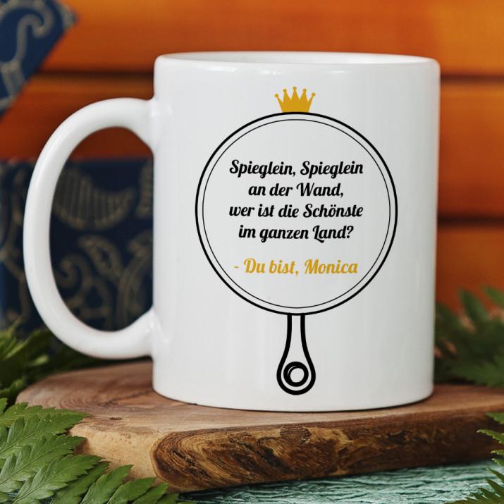 Spieglein - Personalisierte Tasse