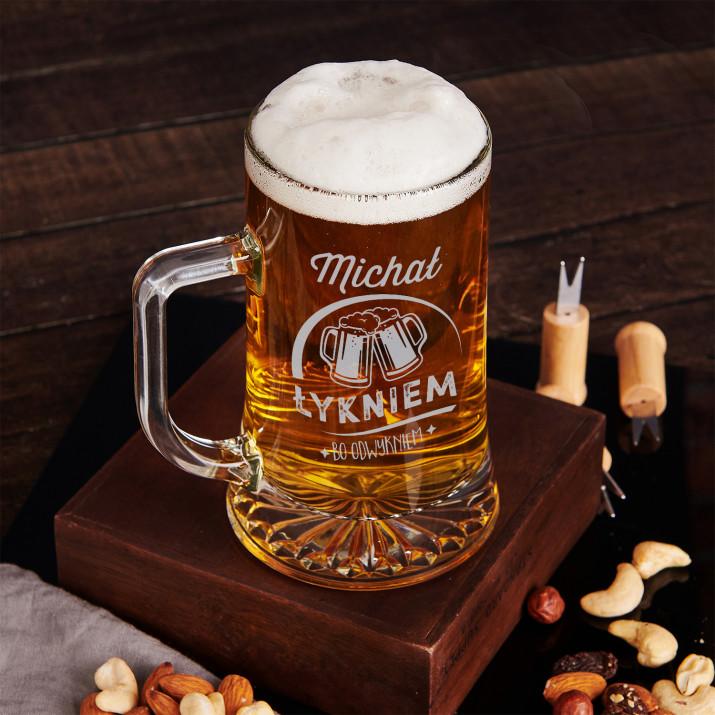 Łykniem bo odwykniem - Kufel na piwo