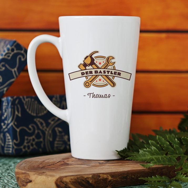 Bastler - personalisierte Tasse