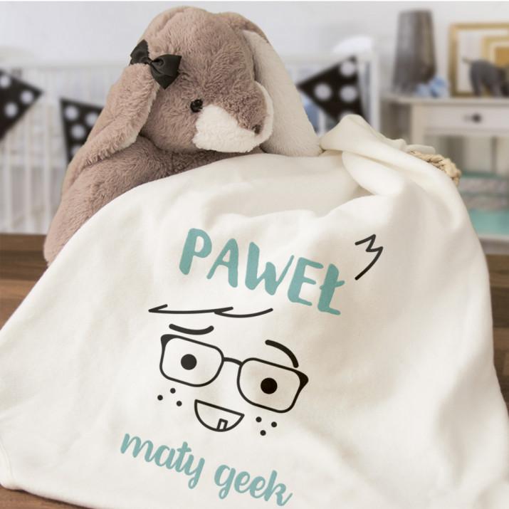 Mały geek - Ręcznik niemowlęcy