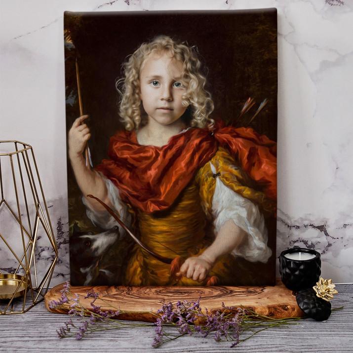 Mały łucznik - Królewski portret