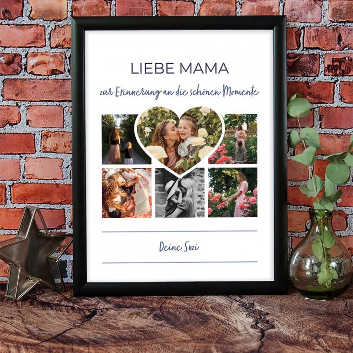 Mama - Collage aus Fotos