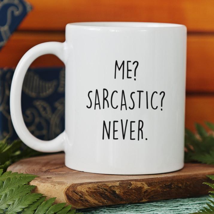 Me sarcastic - kubek