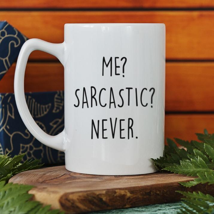 Me sarcastic - Tasse