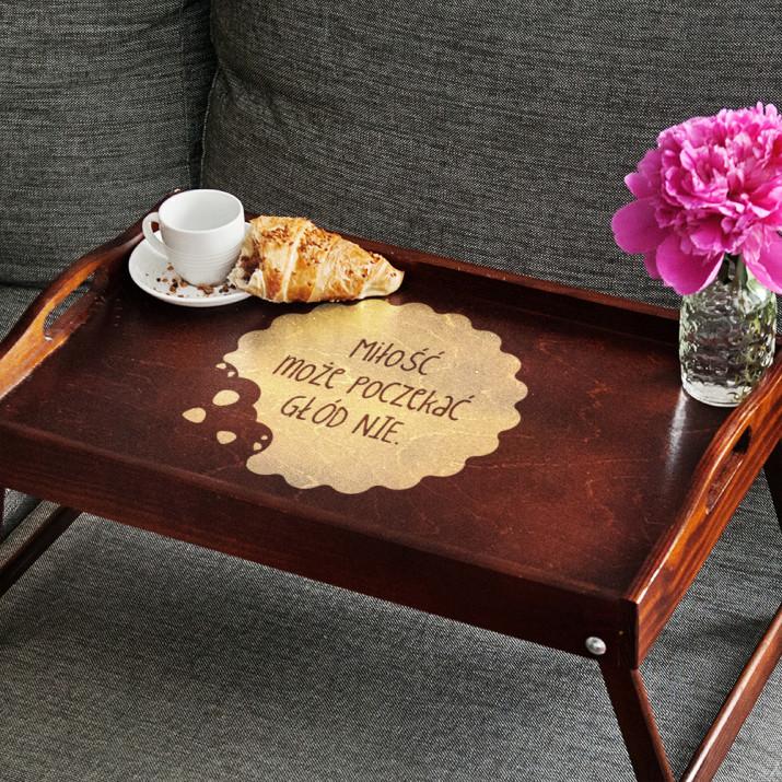 Miłość Poczeka - Taca Śniadaniowa
