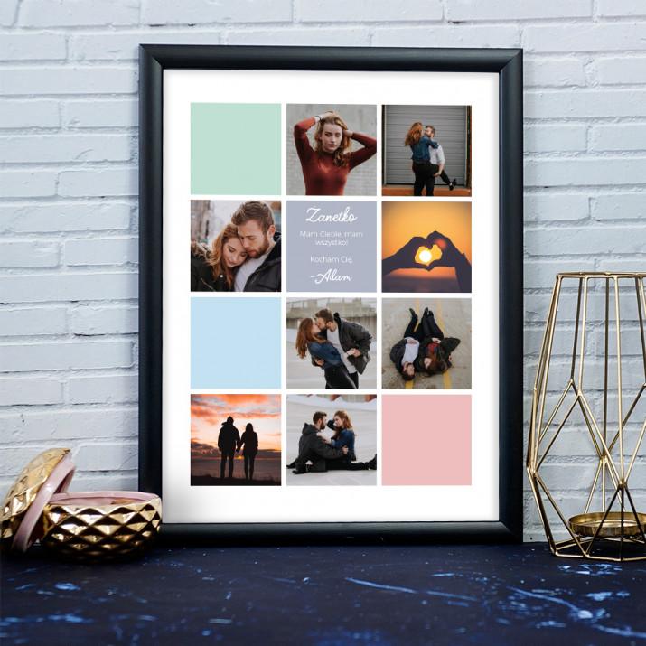 Miłosny 2 - Kolaż ze zdjęć