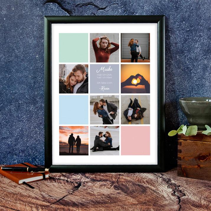 Liebe 2 - Collage aus Fotos