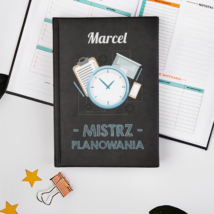 Mistrz planowania - Planer Książkowy A5