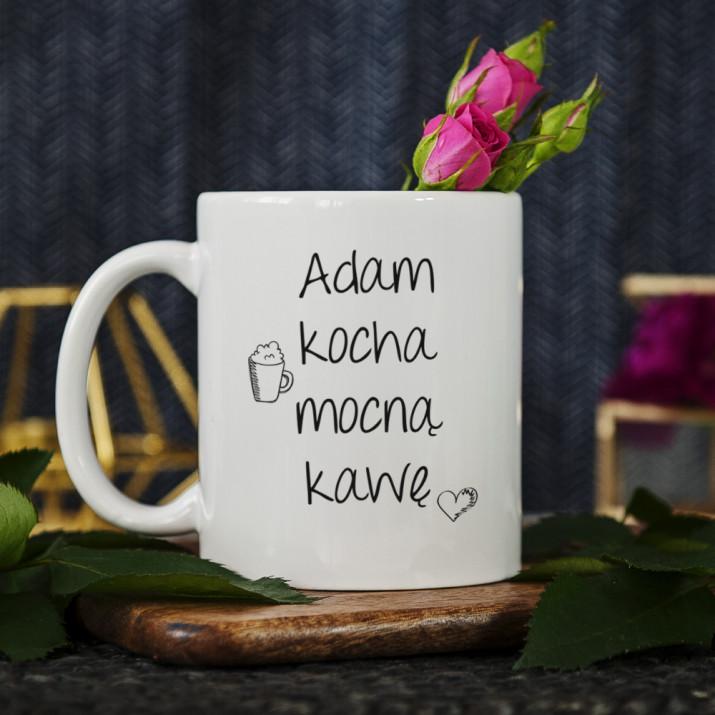 Mocna kawa - kubek personalizowany