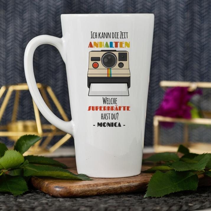Ich kann die Zeit anhalten - personalisierte Tasse