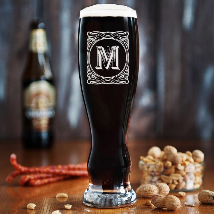 Monogram - Grawerowana Szklanka do piwa
