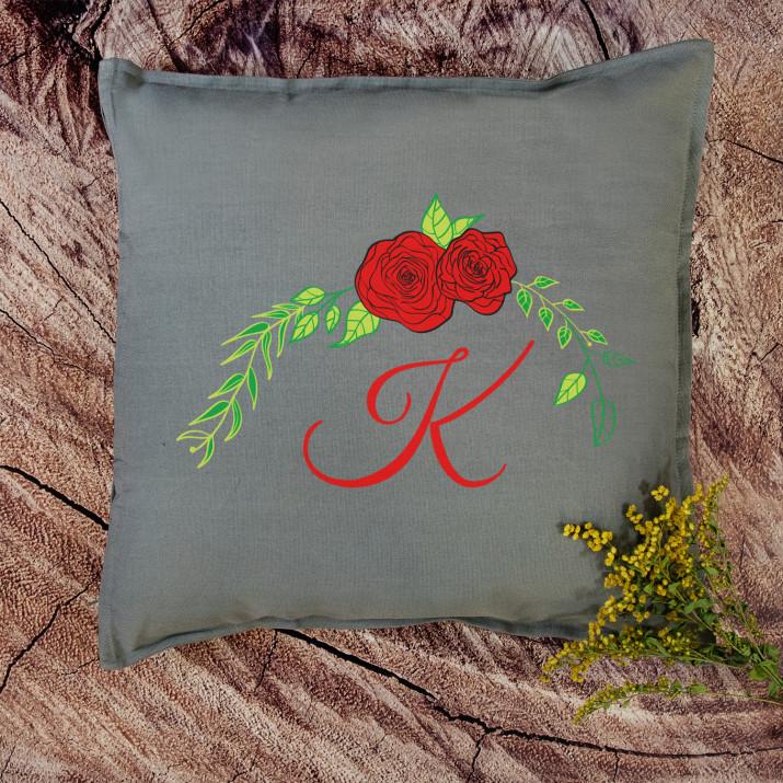 Monogram - Poduszka dekoracyjna