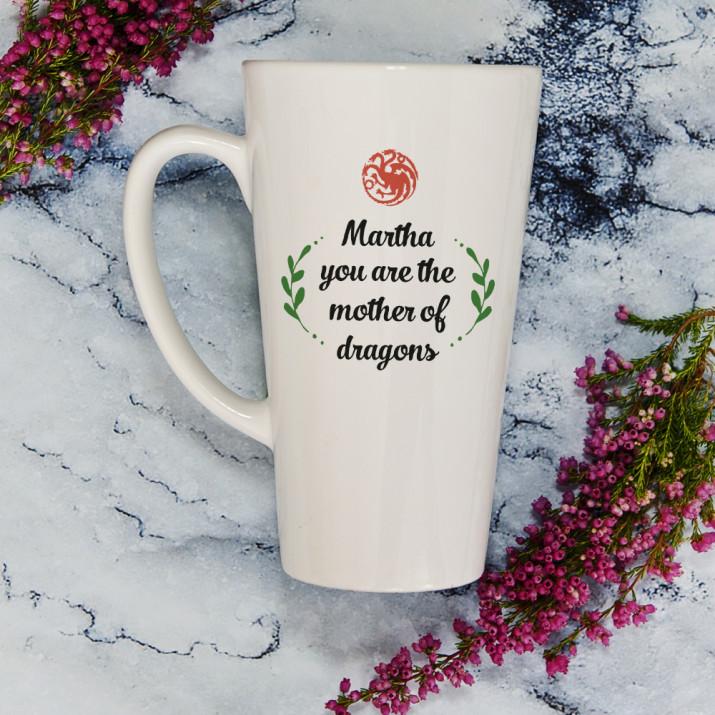 Mother of Dragons - Personalisierte Tasse