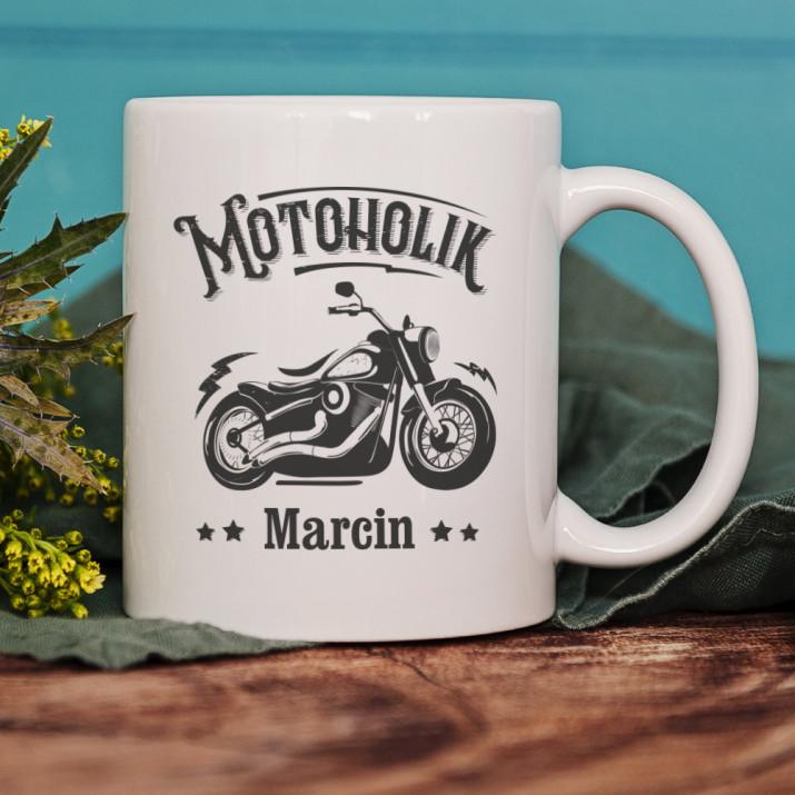 Motoholik - Personalizowany Kubek