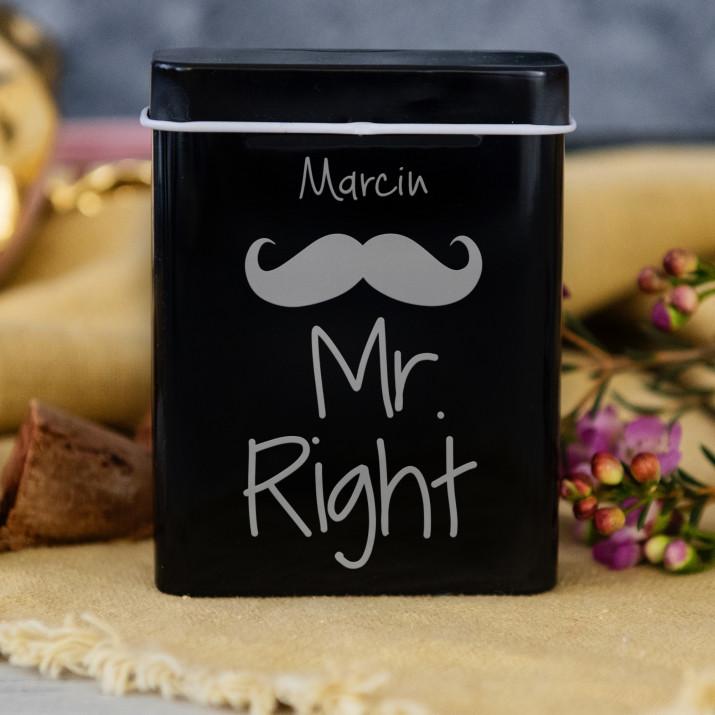 Mr. Right - etui na papierosy z grawerem