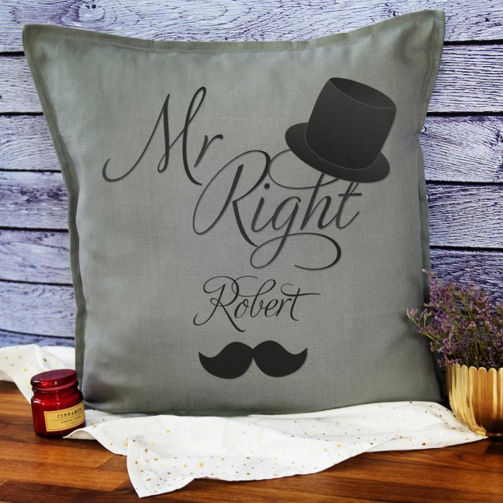 Mr Right - Poduszka dekoracyjna