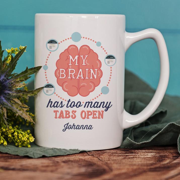 My brain - personalisierte Tasse