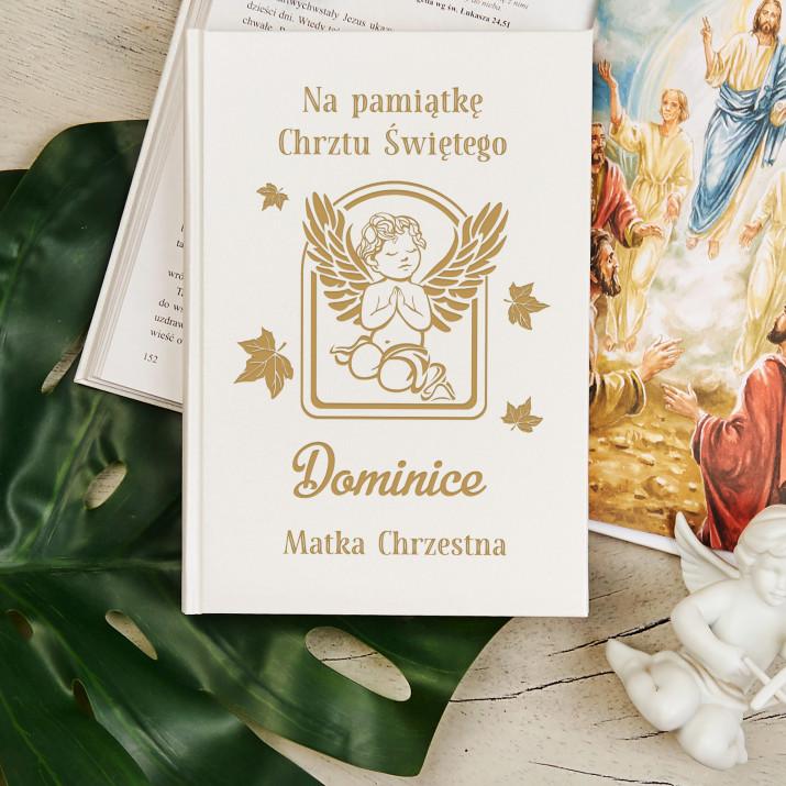 Na Pamiątkę Chrztu Świętego - Ilustrowana Biblia dla dzieci