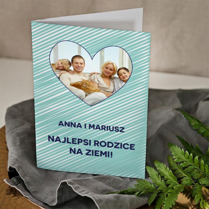 Najlepsi rodzice - kartka z życzeniami