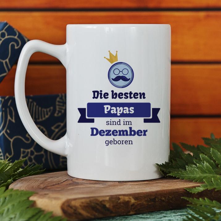 Beste Papas - personalisierte Tasse
