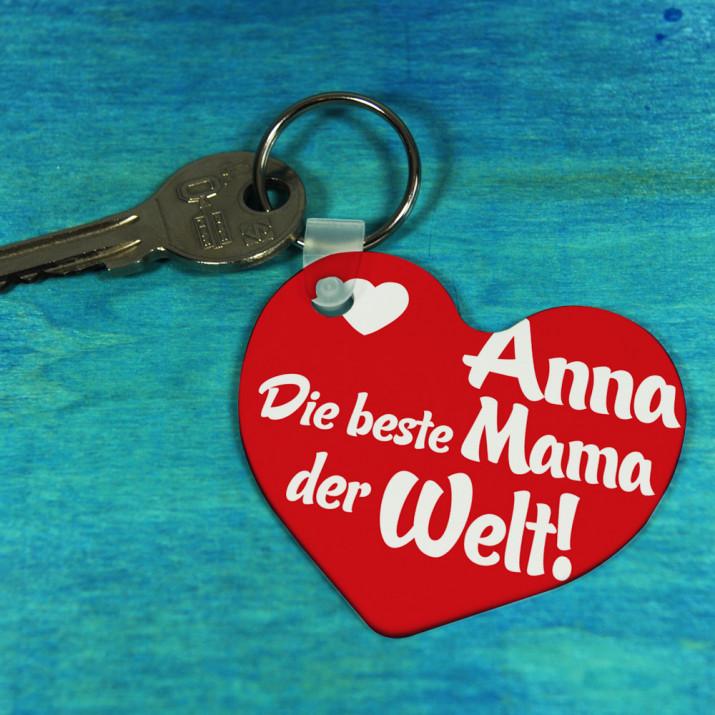 Beste Mama - Schlüsselanhänger