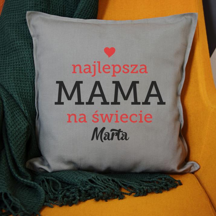 Najlepsza mama na Å›wiecie - Poduszka dekoracyjna
