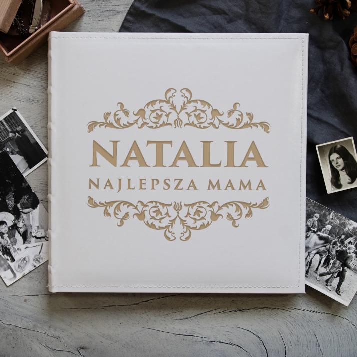 Najlepsza mama - Personalizowany Album na zdjęcia