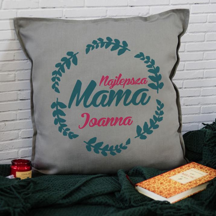 Najlepsza mama - Poduszka dekoracyjna