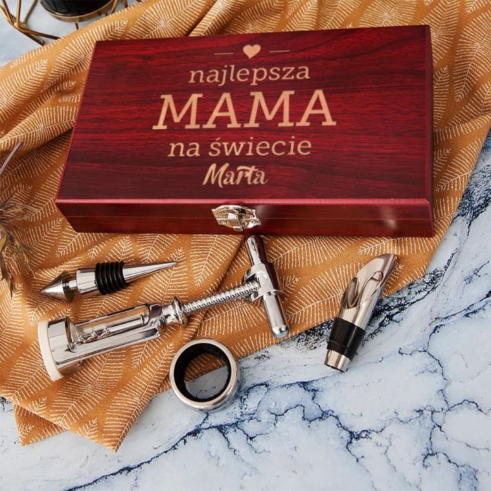 Najlepsza Mama - zestaw do wina