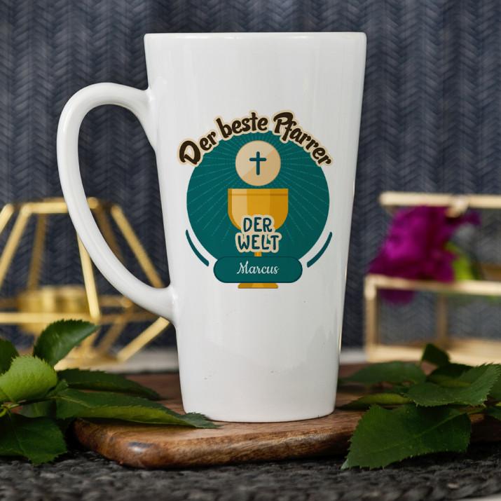 Bester Pfarrer - personalisierte Tasse