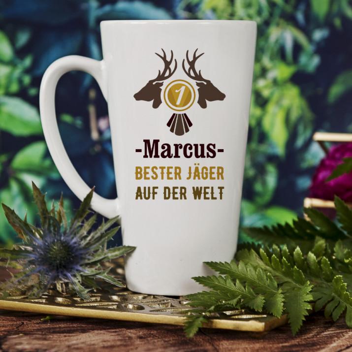 Bester Jäger - personalisierte Tasse