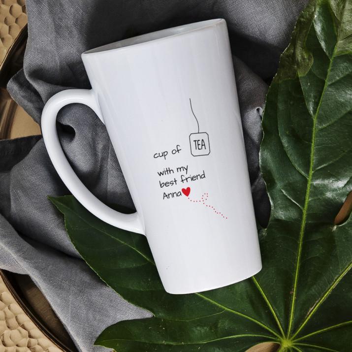 Best Friend - Personalisierte Tasse