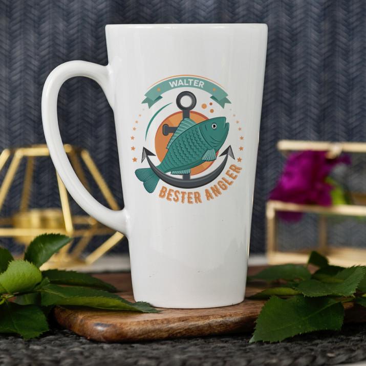 Bester Angler - personalisierte Tasse