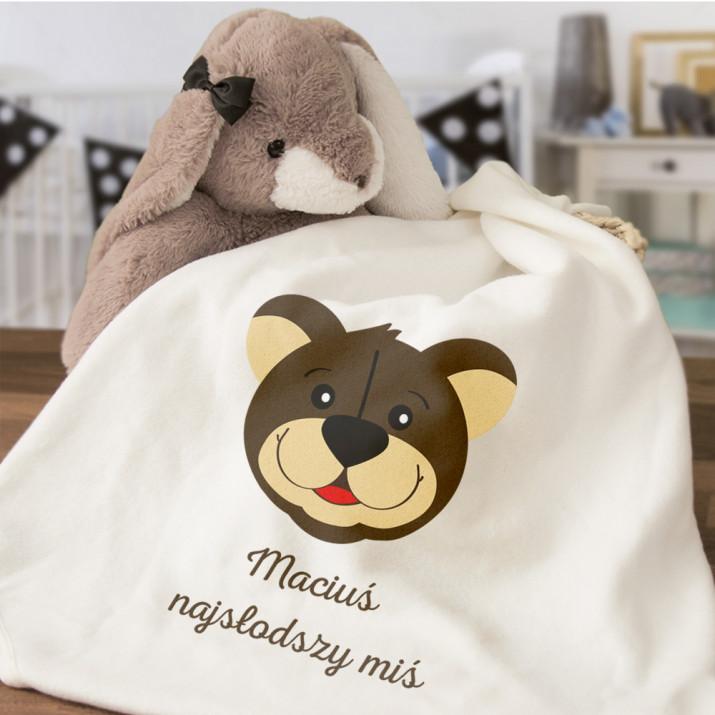 Najsłodszy miś - Ręcznik niemowlęcy