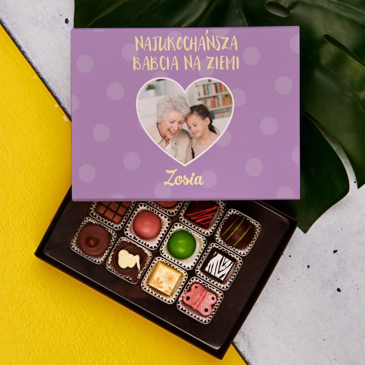 Najukochańsza Babcia na ziemi - Praliny z belgijskiej czekolady