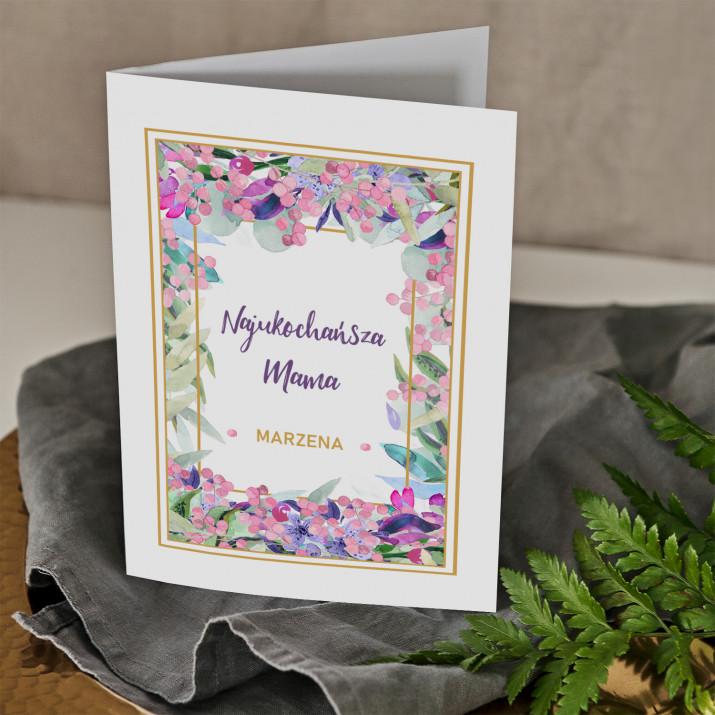 Najukochańsza mama - kartka z życzeniami