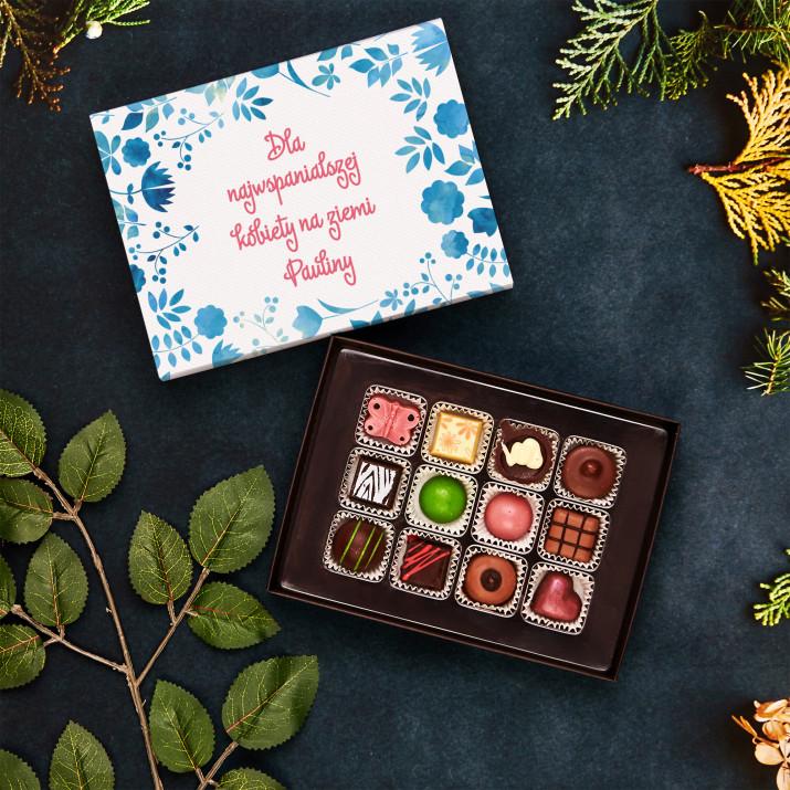 Najwspanialsza kobieta - Praliny z belgijskiej czekolady