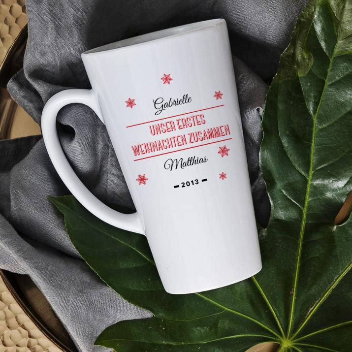 Erstes Weihnachten - Personalisierte Tasse
