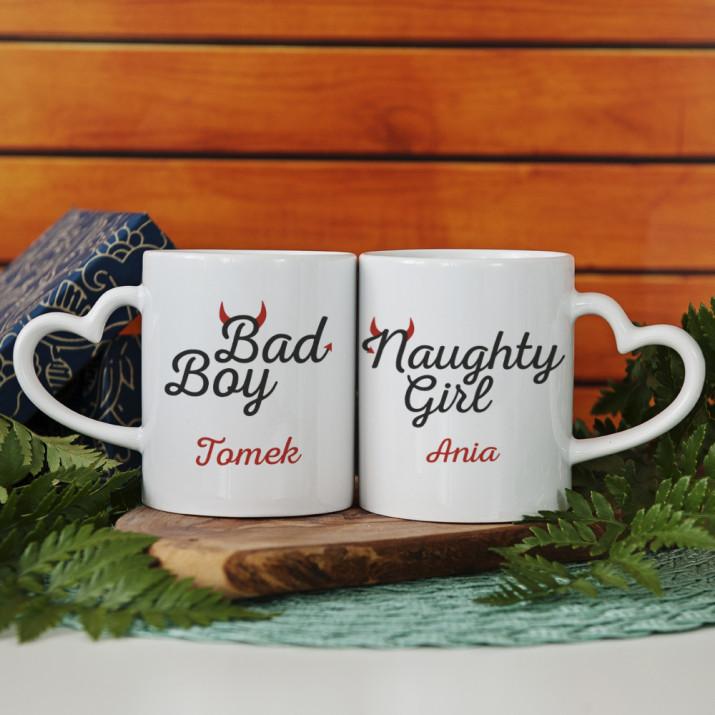 Naughty Girl & Bad Boy - Kubki dla pary