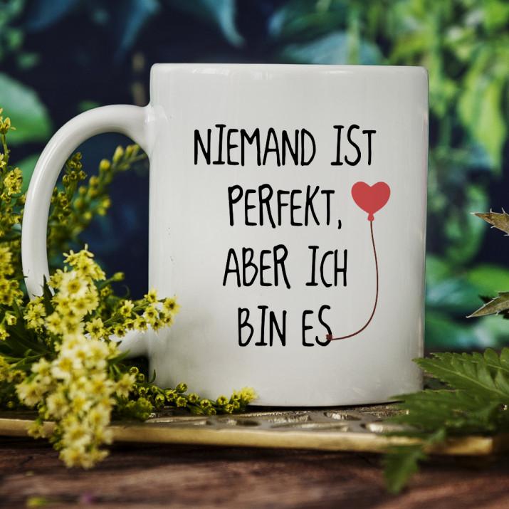 Niemand ist perfekt - Tasse