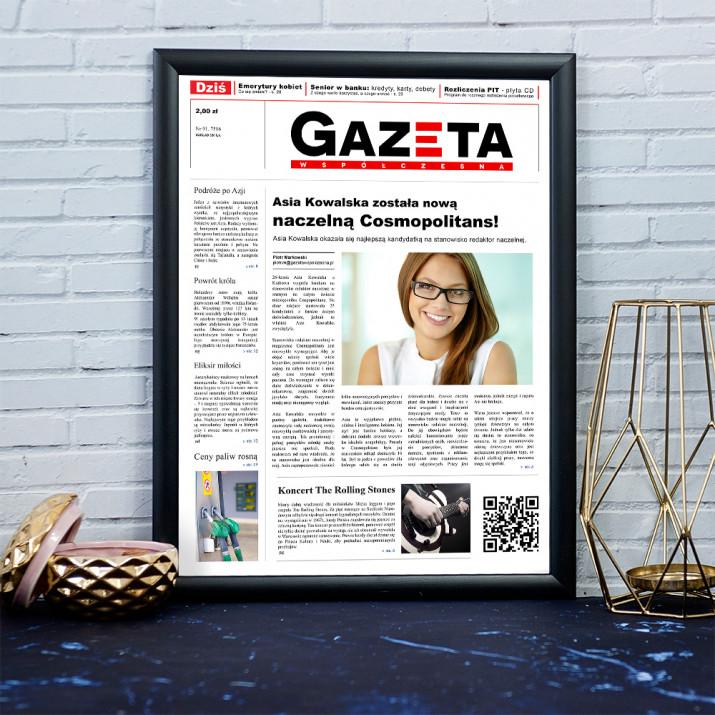Nowa Naczelna Magazynu - Okładka Gazety