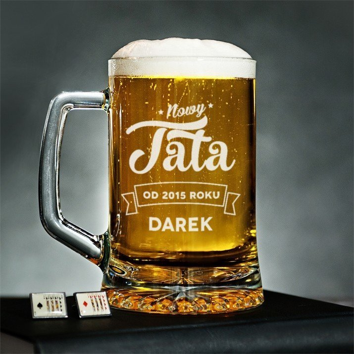Nowy Tata - Personalizowany Kufel