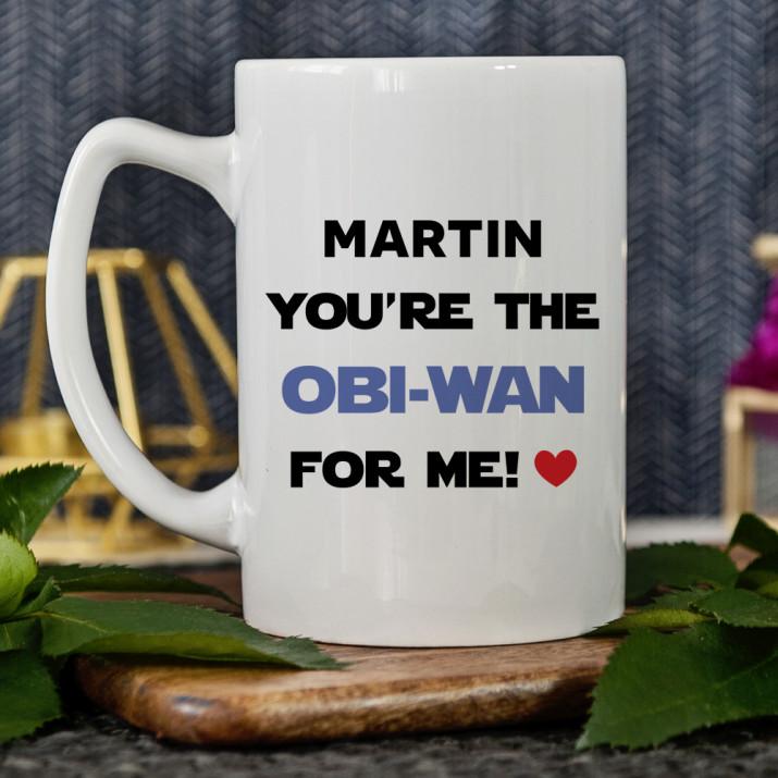 OBI-WAN - Personalisierte Tasse