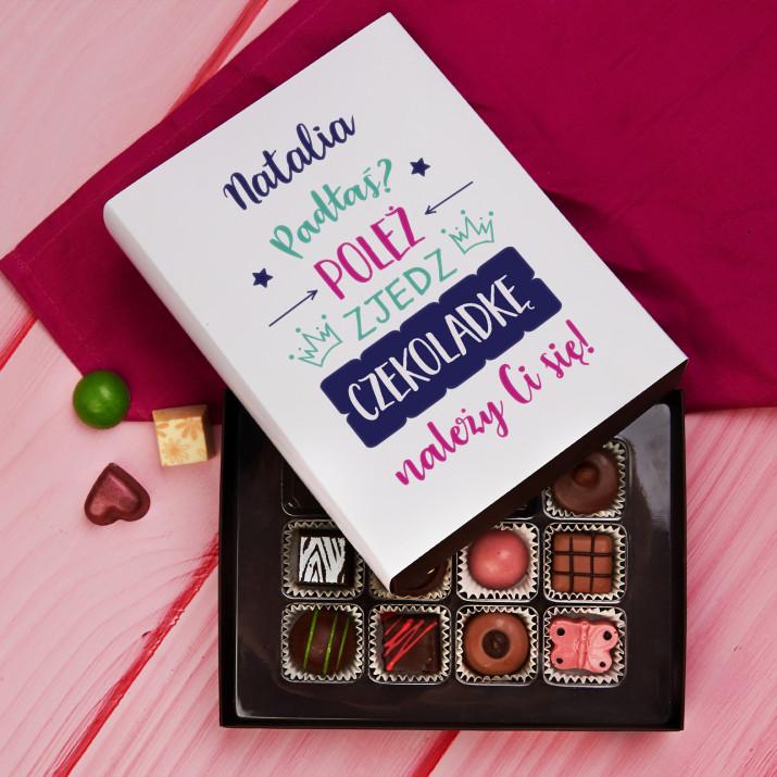 Padłaś, poleż - Praliny z belgijskiej czekolady