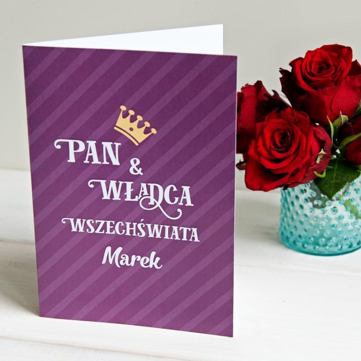 Pan i Władca - kartka z życzeniami