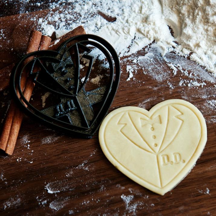 Pan Młody - personalizowana foremka 3D do ciastek
