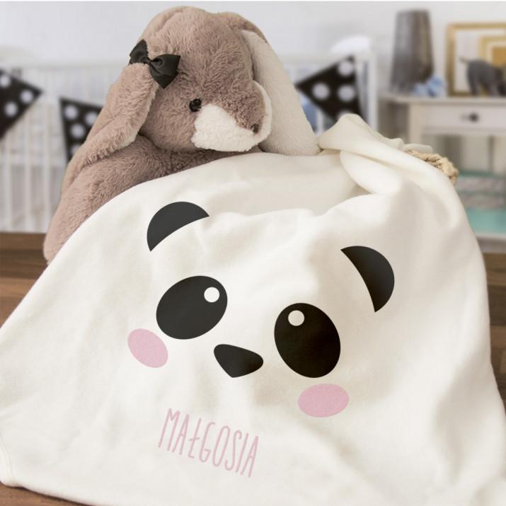 Panda - Ręcznik niemowlęcy
