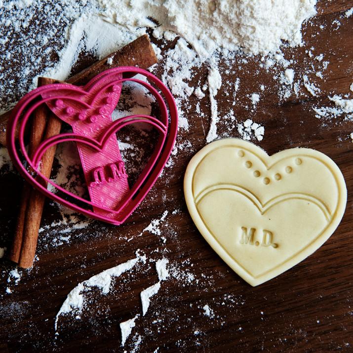 Panna Młoda - personalizowana foremka 3D do ciastek