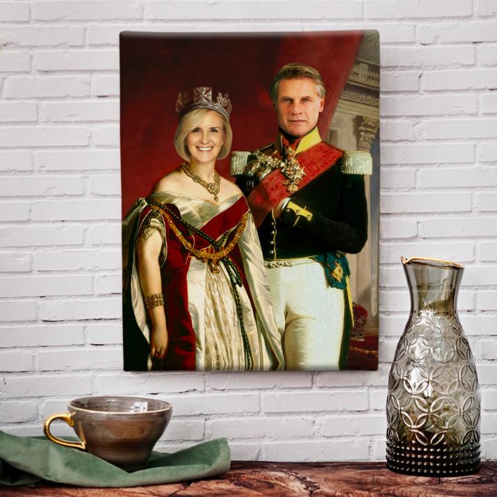 Para królewska - Królewski portret